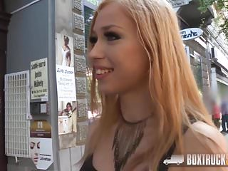 Fucks in public - Boxtrucksex - sexy blonde shopping assistant fucks in public