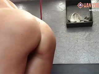 Pussy with balls in it Popping pool balls in and out of ass