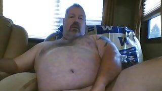 Daddy Bear Wanking