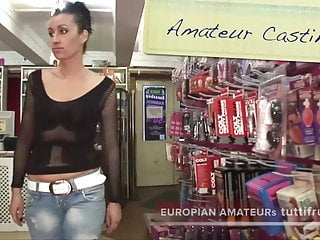 Amateur casting pornmovie - Double amateur casting in the sex club