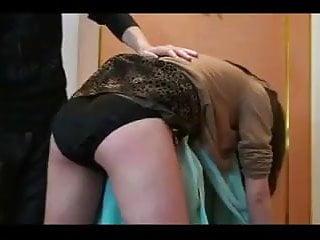 Striped naked and beaten - Cruel ass wife beaten
