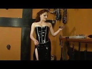 Cock and ball torture mistress Slave gets his cock and balls tortured by his mistress