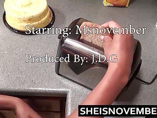 Sister nude kitchen hot Horny step sister msnovember fucks her bro in kitchen sex