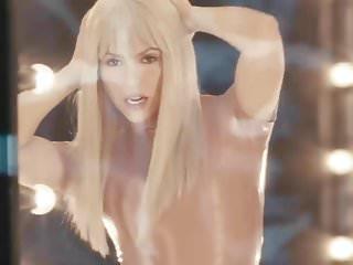 Shakira tit Shakira booty shake in latex