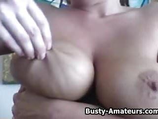 Shave pussy amateur Busty amateur lesly masturbates her shave pussy
