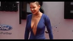Meagan Good HOT CLEAVAGE !!!