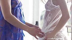 Angel In Blue: Bi-Curious Beauties - Lesbian Edition
