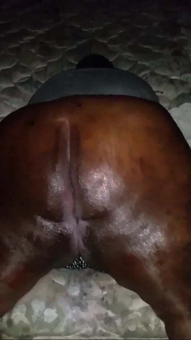 Ebony Big Booty Anal Homemade