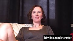 Brunette german milf masturbating