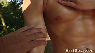 Muscle Worship - Flexing - John Tremont