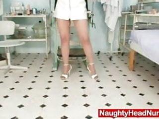In mature uniform Mature nurse uniform wearing tamara masturbation