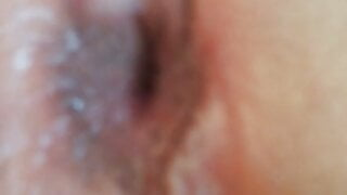 horny pussy with anal plug in my ass