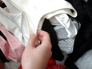 Cum her pantie drawer High girl panty drawer part 3 cumming