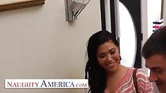 Naughty America London Keyes visits her sugardaddy