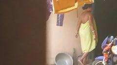 Indian Bhabhi In Peticoat