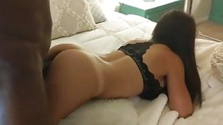 Proud Cuckold Hubby Filming Hot Young Wife Taking Big Black Cock