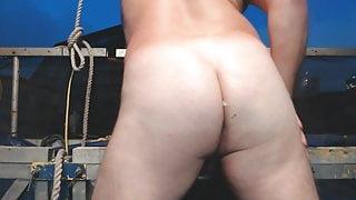 JoeyD Plump Enema Butt Squirting Heavy