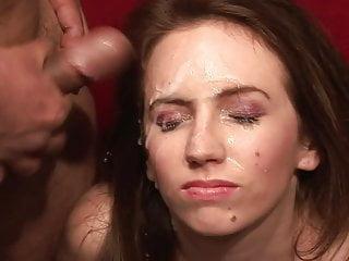 American bukkake vide Emma luvgood - american bukkake 38