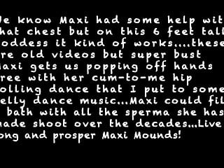 Free blonde tits video Maxi mounds hands free tribute - pop