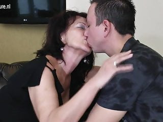Grandmother milf Young boy fucks grandmother