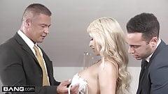 Glamkore - Christina Shine double penetration threesome