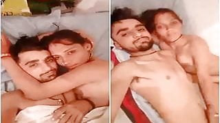 Today Exclusive- Desi Village Couple Record N...
