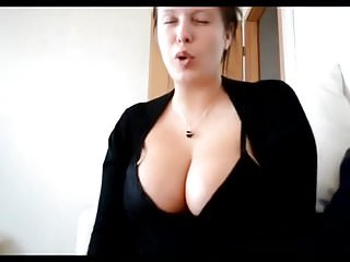 Very long nails big tits - Natural white long nails handjob big boobs tits