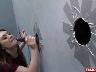 Glory hole initinations Jojo kiss visiting the famous glory hole