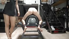 severe Caning over horse