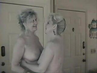 My first lez sex Lez sex for 2 old gals