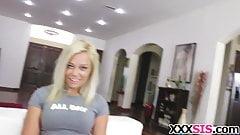 Blonde Sis Kenzie Green Gets Banged