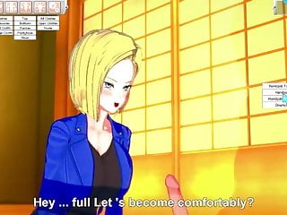 Photo dbz yaoi porn Dbz android 18