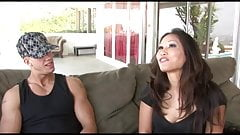 Exotic Asian deep throats a huge white pole