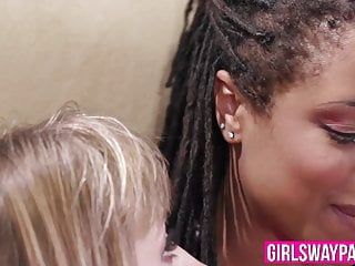 Girls licking girls assholes Ebony dyke and her girlfriend lick each others assholes