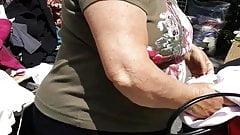 Granny Stripping Voyeur