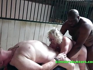 Fucking milf stable boy - Busty claire knight double fucked in the stables