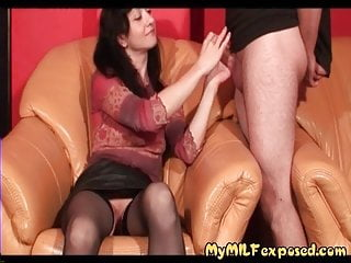 How to piss off my leiutenant - My milf exposed how wife in stocking jercking off her