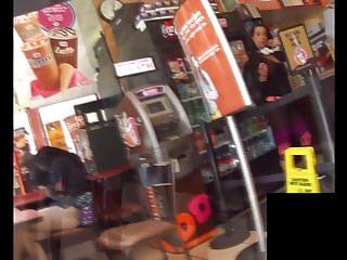 Milf upskirt in cafeteria video Culote cafeteria