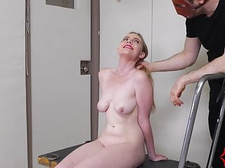 Circumcision ruin sex - Big ass blond ruined by anal sadist, then ass fucked again