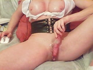 Wet lingerie tgp - Sexy mature fucks her wet pussy with toy