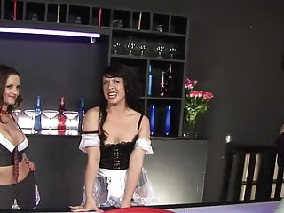 Hannah monatana sex tape Playful babes hannah show and valentina cruz get banged in a bar