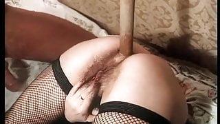 moist the stick