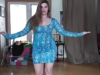 Dancing music naked vidios Pawg in blue dress dancing to arabic music