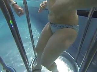 Under water pool porn Play under water