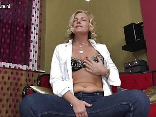 Double penetrated milf Mature mother double penetrated with her fingers