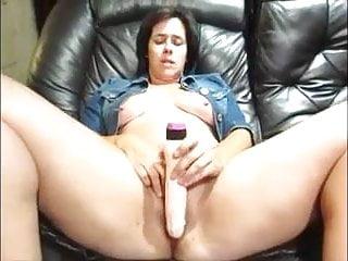 Chunky mature homemade anal sex video Chunky mature masturbates with pleasure