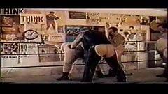 Chubby bear wrestle fuck