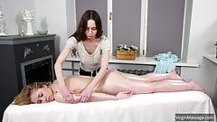 Klava Gorbefog's first virgin massage