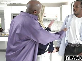 Dick aucking Blacked back for 2 big black dicks
