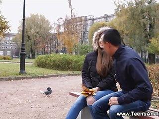 Anal romance 3 Teens analyzed - autumn romance and first anal